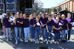 Днепр продолжает праздновать: арт-проект 'Битва хоров' собрал более 400 участников