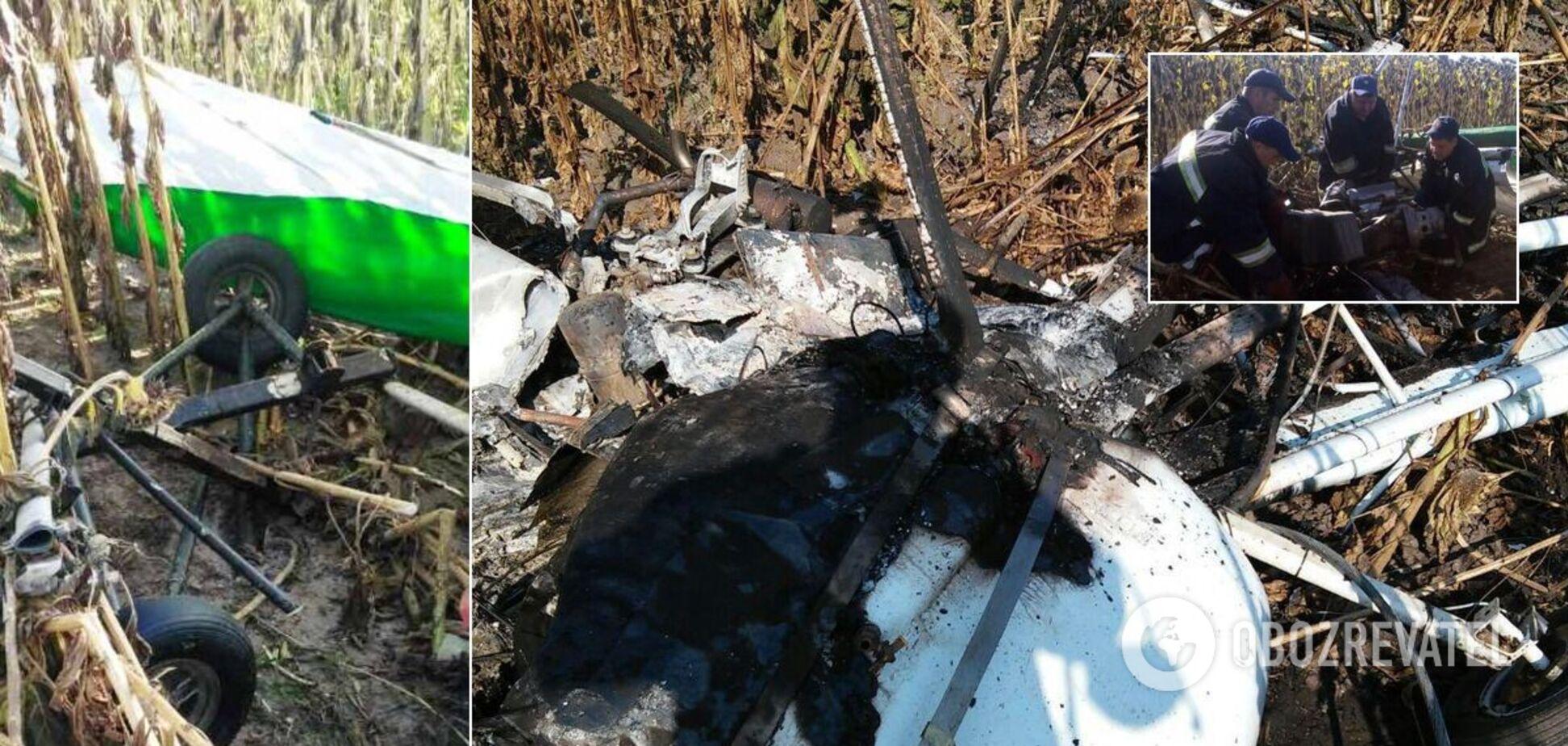 На Сумщині й Житомирщині загинули двоє пілотів