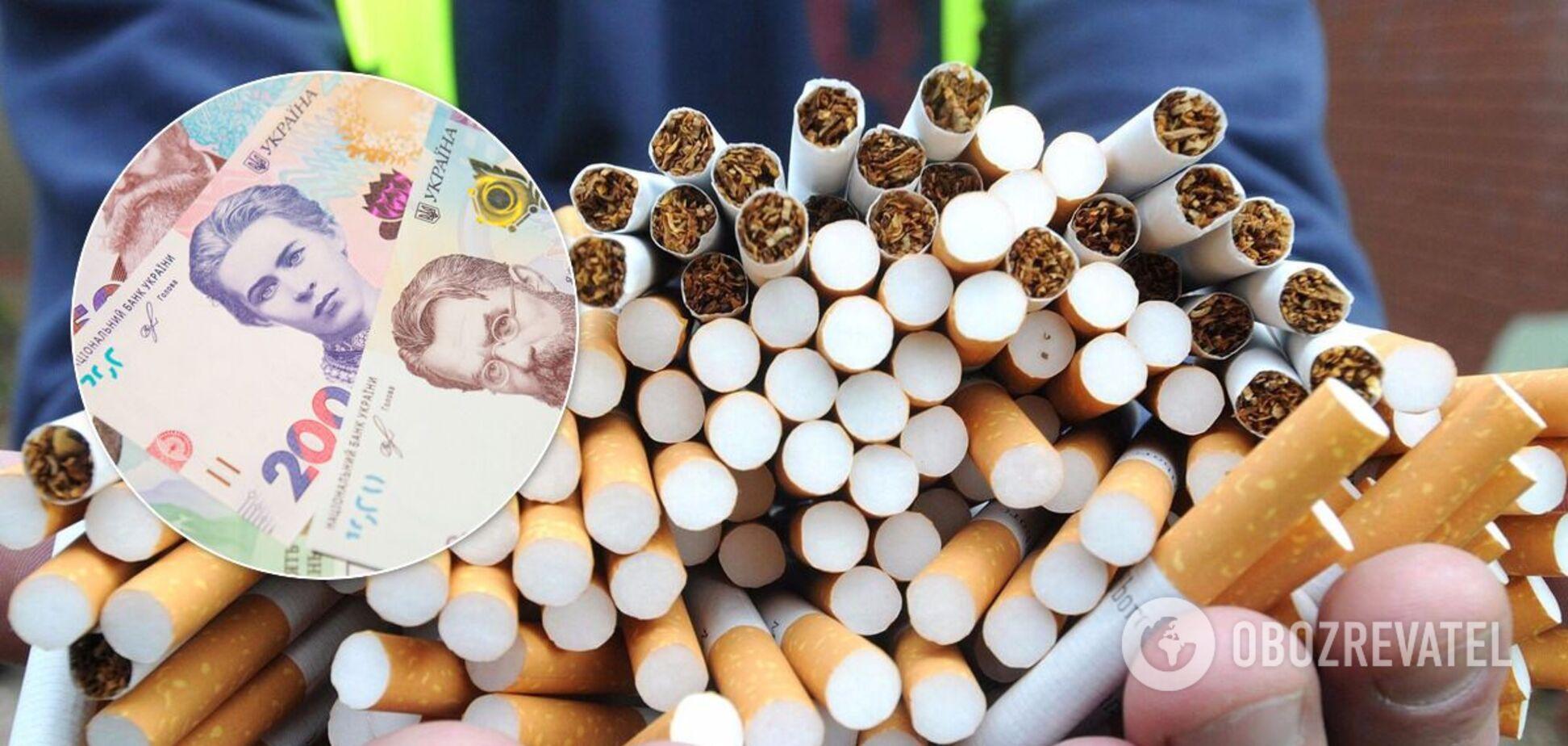 Продажі підроблених сигарет в Україні побили рекорд за 6 років