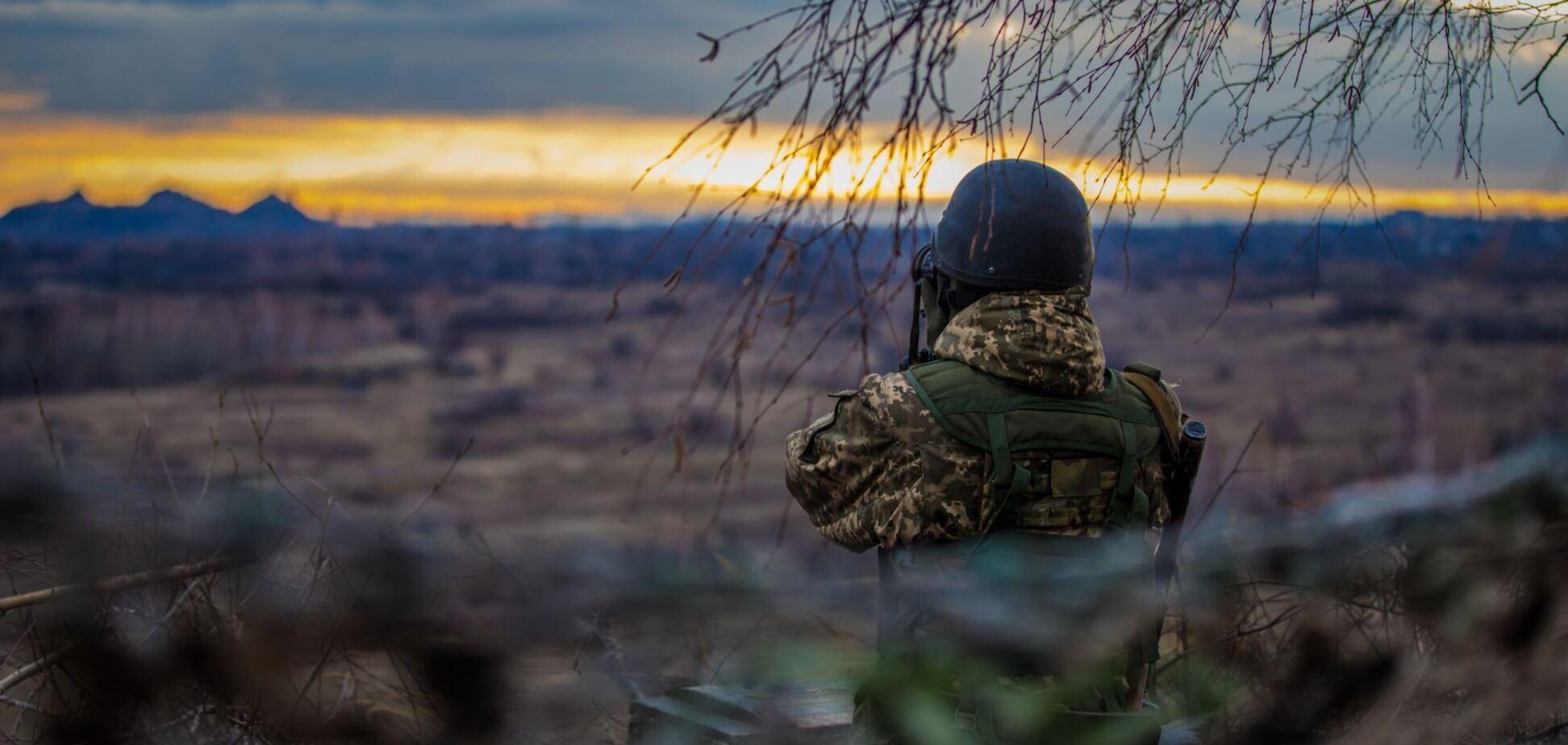 На Донбассе террористы усилили обстрелы