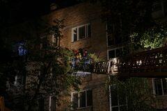 В Киеве горел многоэтажный дом