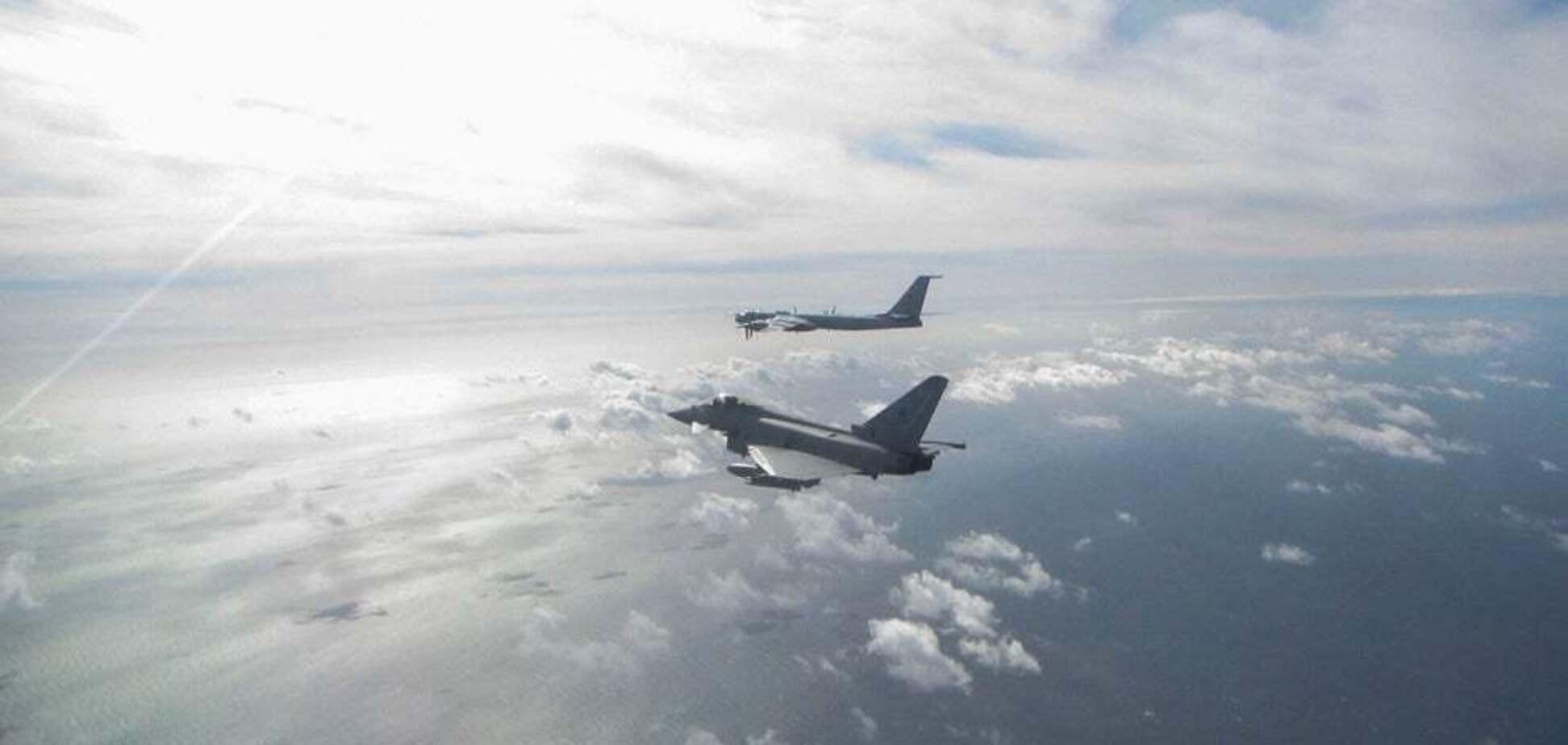 Ту-142 вошли в контролируемое Соединенным Королевством воздушное пространство