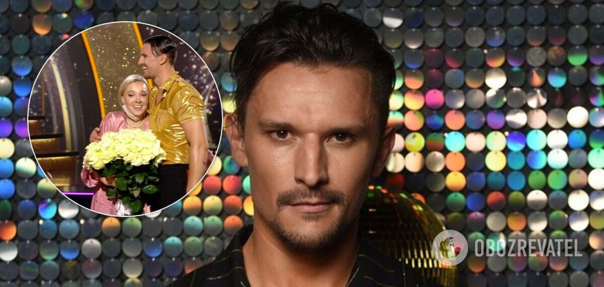 Секс-символ 'Танців з зірками' Цимбалюк сделал предложение возлюбленной на шоу