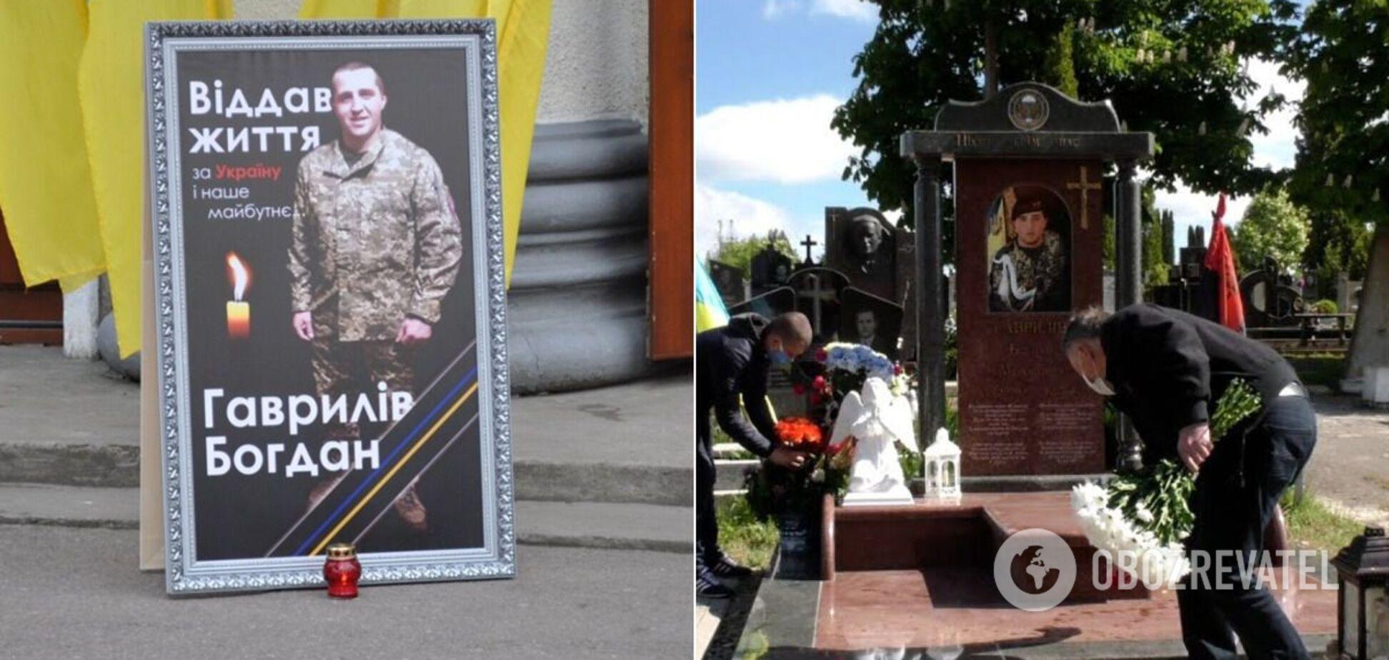 У Калуші осквернили могилу Богдана Гавриліва