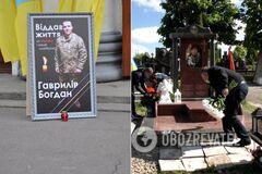 На Прикарпатье вандалы осквернили могилу воина ВСУ