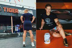 Чемпионка Украины снялась обнаженной, прикрывшись полотенцем