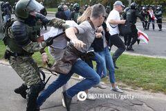 В МВД Беларуси признали, что стреляли на протестных митингах в Минске. Видео