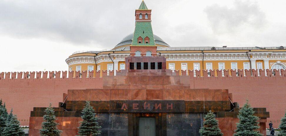 МавзолейВладимира Ленина на Красной площади
