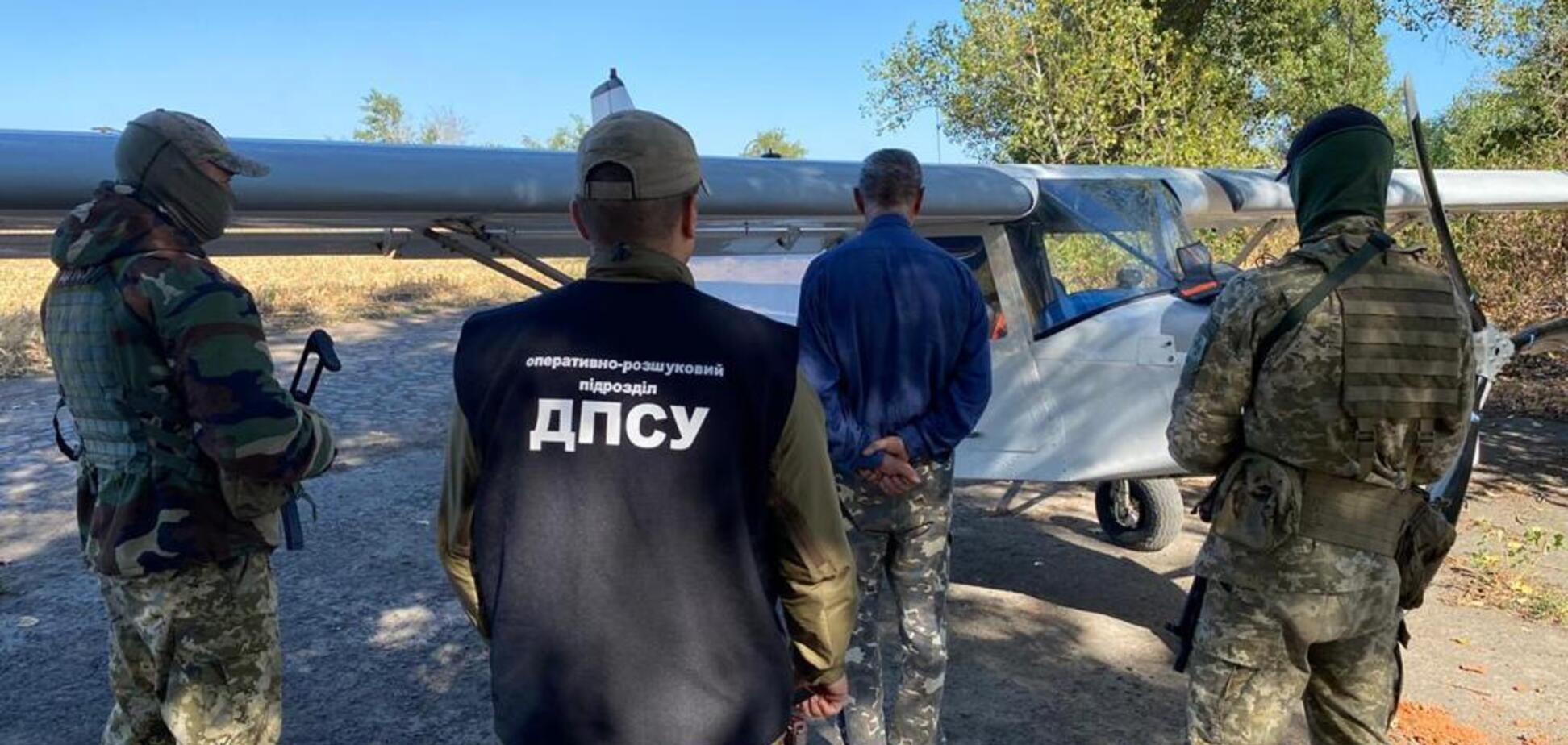 Мужчина летал в Румынию с сигаретами. Фото - сайт Государственной пограничной службы.