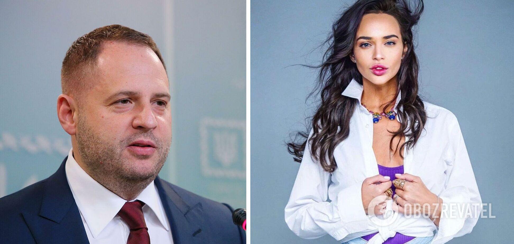 Особисте листування Фокіної та Єрмака опинилося в мережі: українці не змовчали