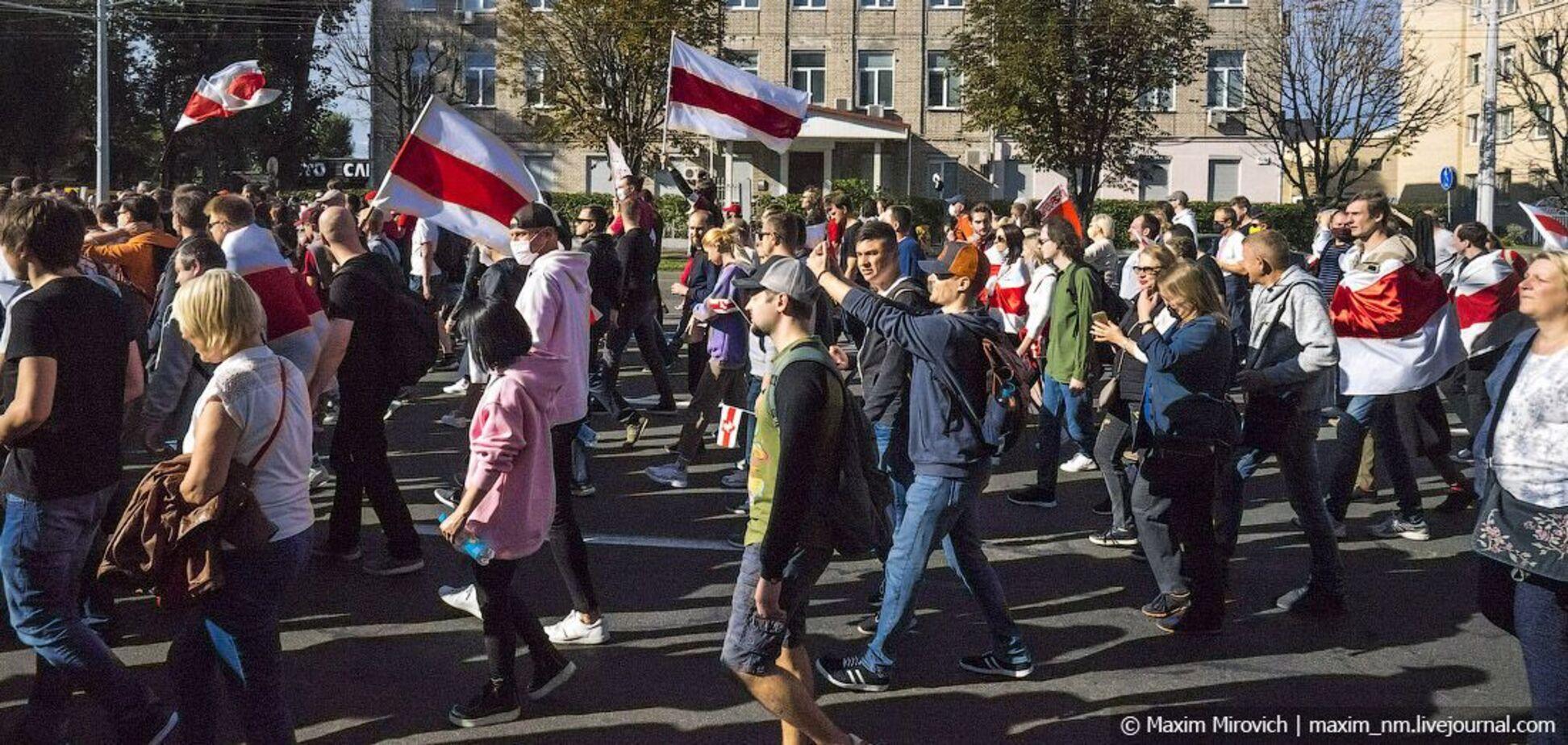 Протесты в Беларуси: у нас ничего не закончилось, все только начинается