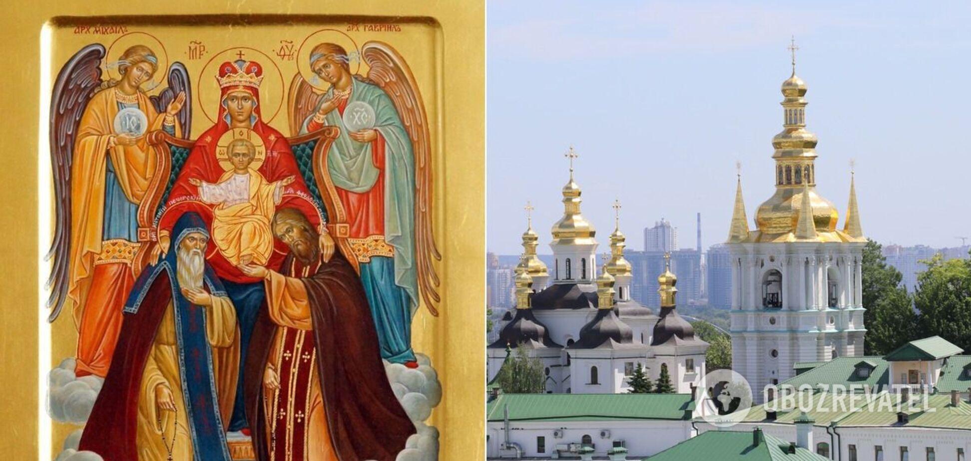 Преподобні Антоній і Феодосій – засновники Києво-Печерської лаври