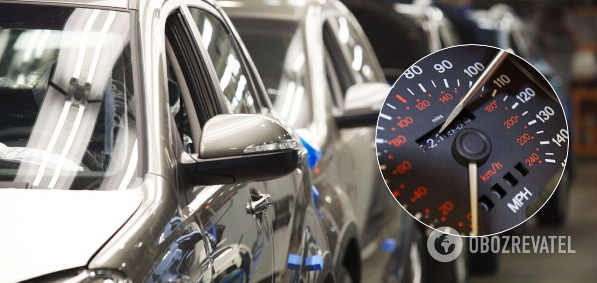 В Украине будет создана база пробега авто