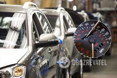 За 'скручивание' пробега авто будут наказывать: в МВД озвучили детали