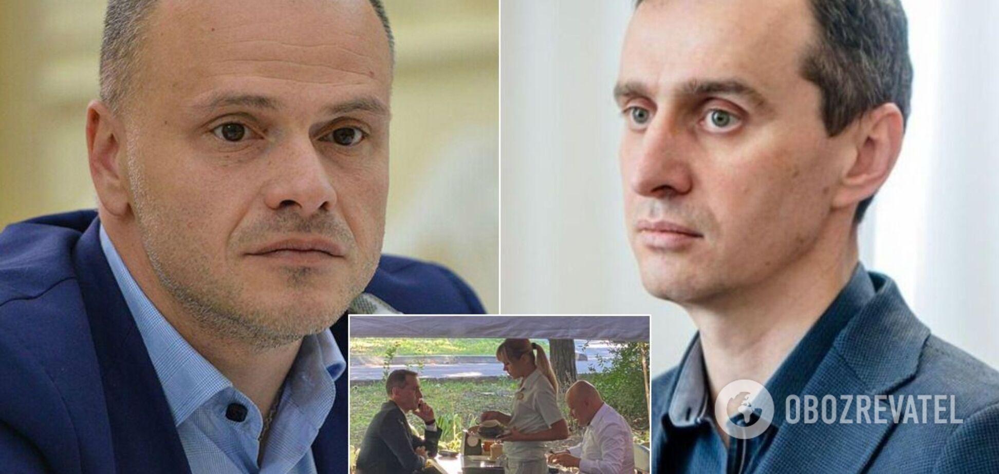 Радуцкий и Ляшко сходили на ланч
