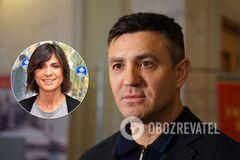 Николай Тищенко резко обратился к Нателле Крапивиной