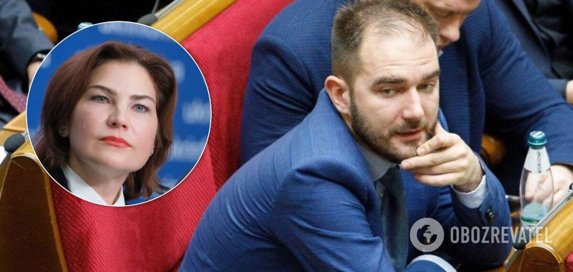 Венедіктова відмовилася підписувати підозру нардепові Юрченку, – Береза