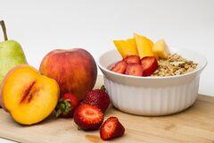 Персик выделяется среди прочих фруктов
