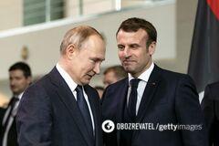Макрон заявил Путину о доказательствах отравления Навального 'Новичком'