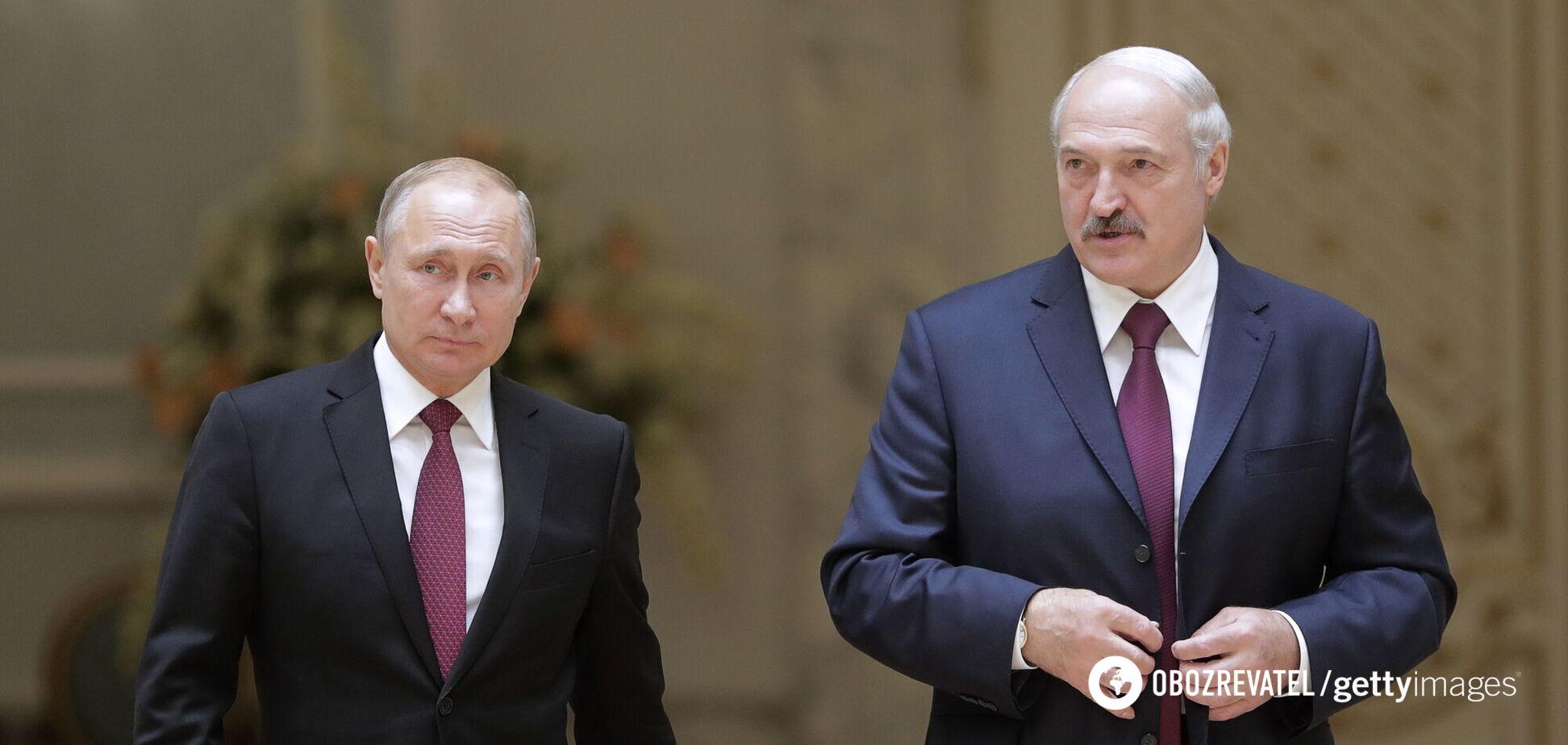 Лукашенко встретился с Путиным