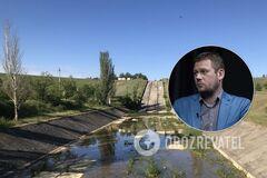 Денис Казанский ответил на претензии России по поводу воды для Крыма