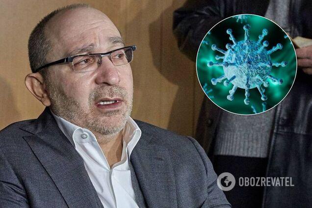 Кернес захворів на коронавірус