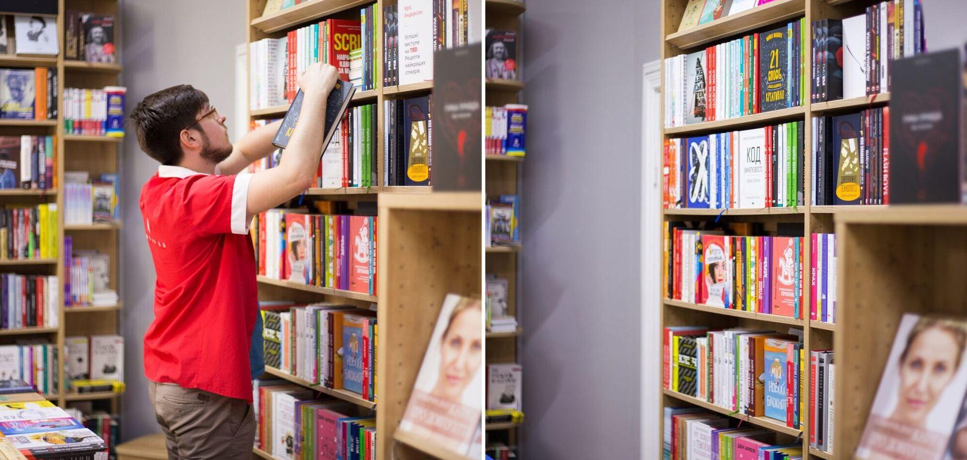 Книгарня 'Є' обурила мережу заявою про торгівлю російськими книжками