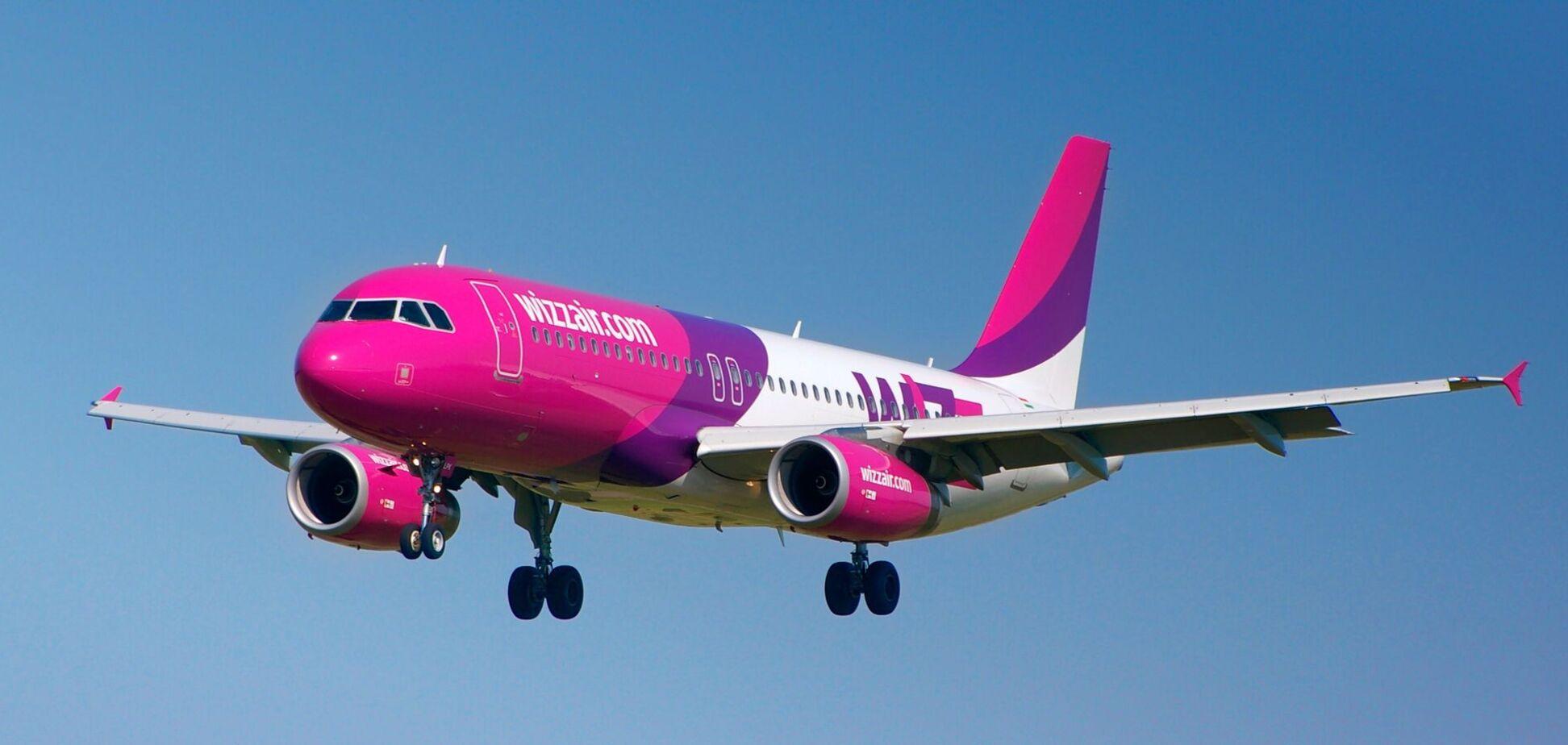 Часть рейсов Wizz Air отменена до конца марта 2021 года. Фото galnet.fm