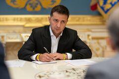 Зеленский подписал Указ о введении в действие Стратегии национальной безопасности Украины