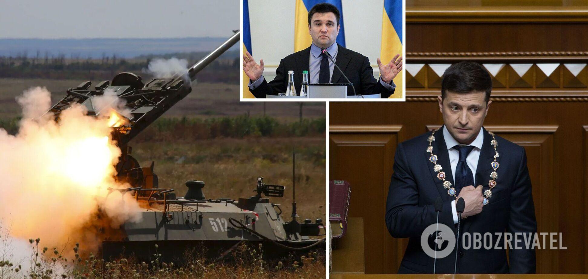 Клімкін: Путін влаштував Зеленському тест і збільшуватиме ціну припинення вогню на Донбасі