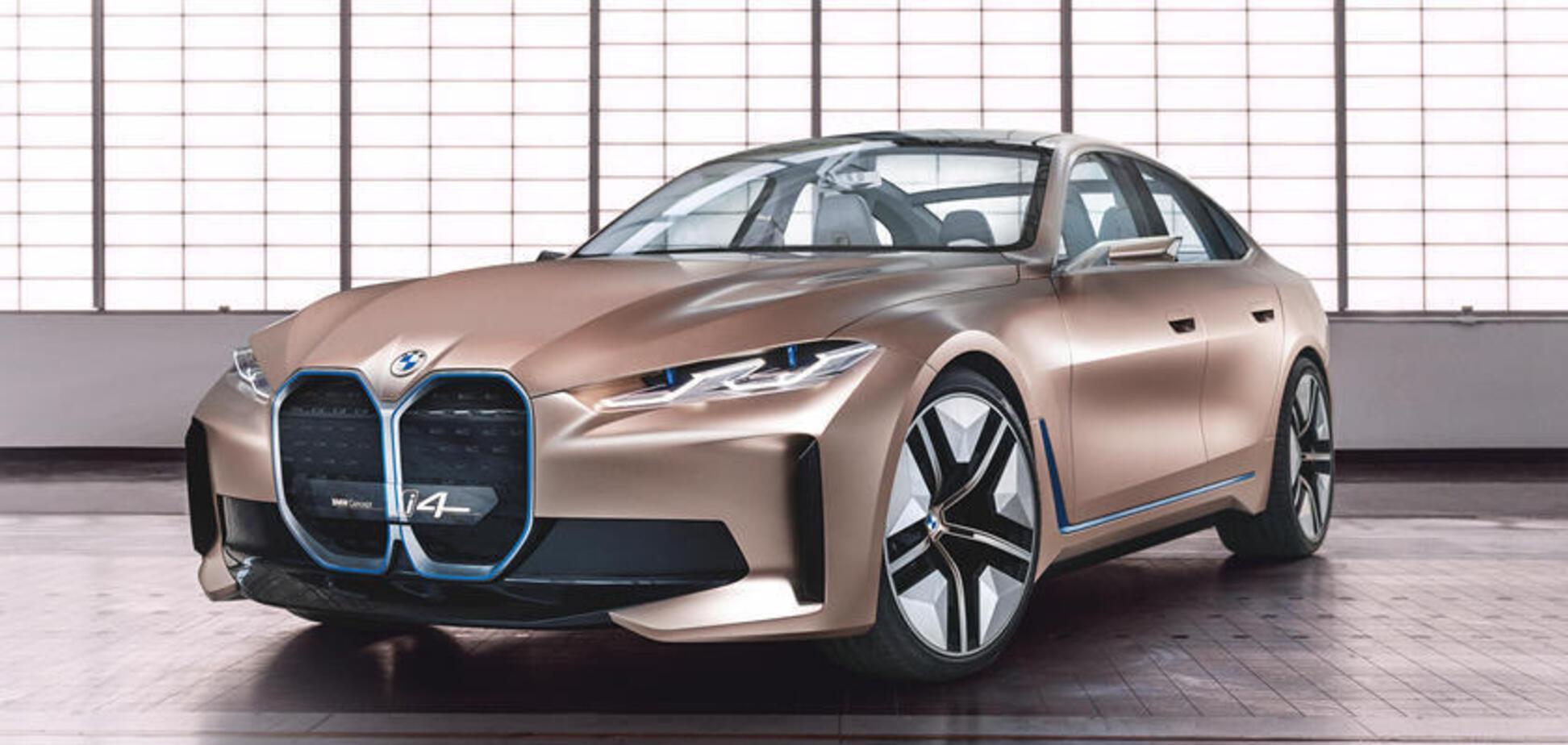 Электрический седан BMW i4 на шаг ближе к производству. Источник: Фото: BMW