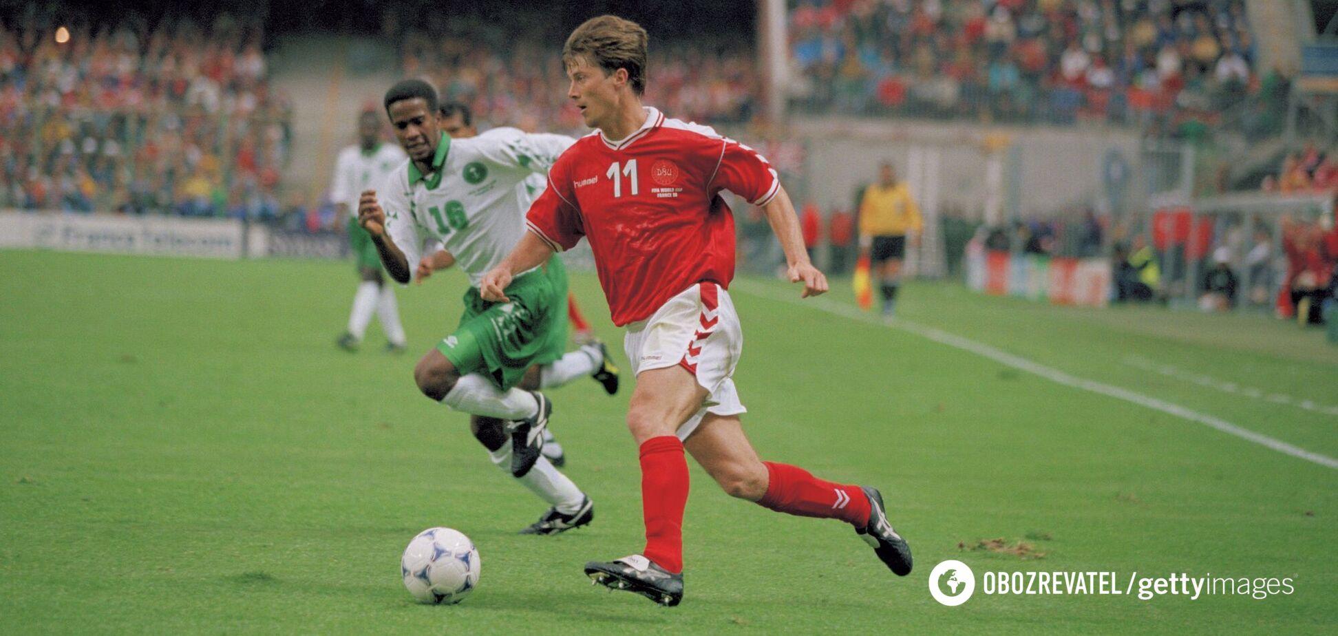Брайан Лаудруп в составе сборной Дании