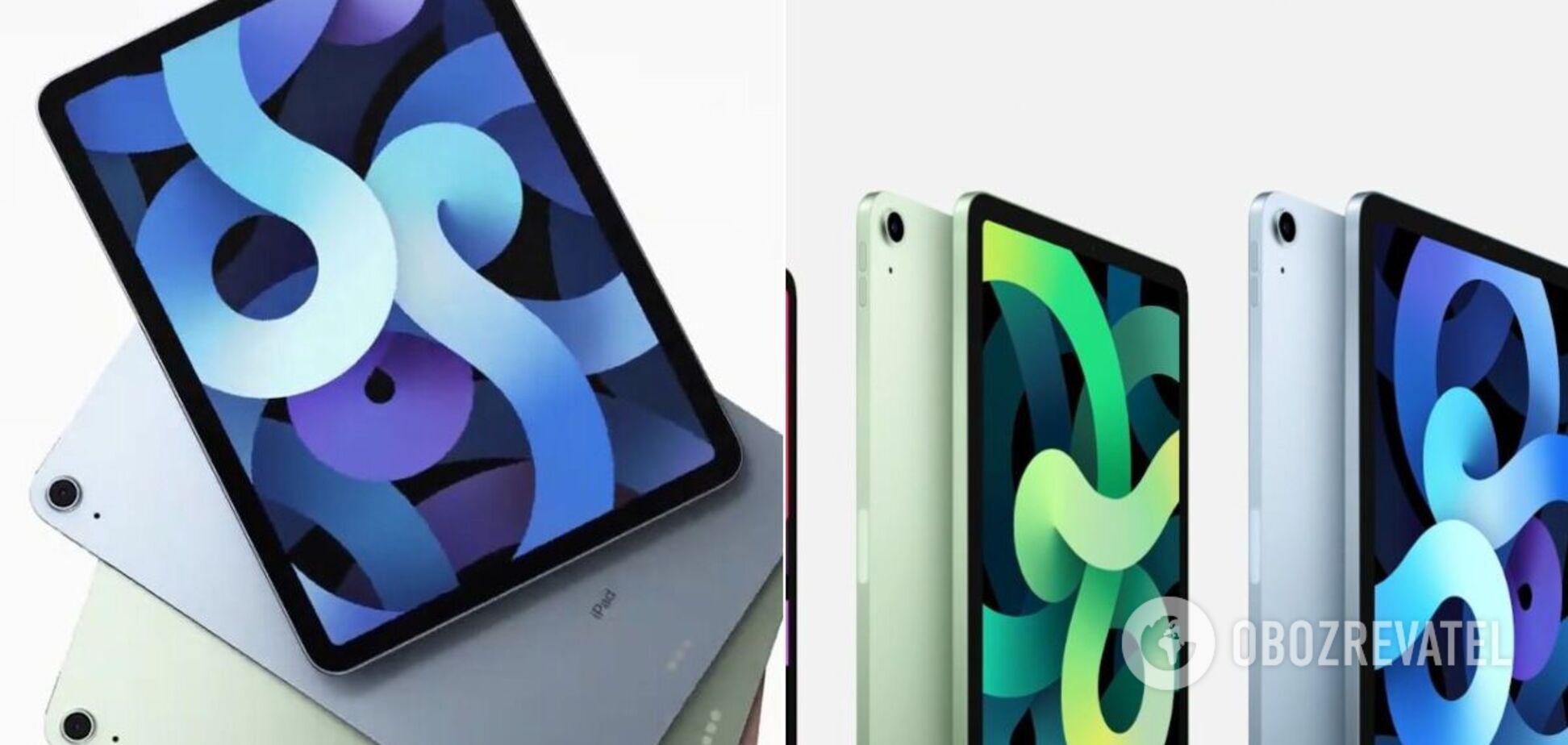 Apple показала нові iPad і iPad Air