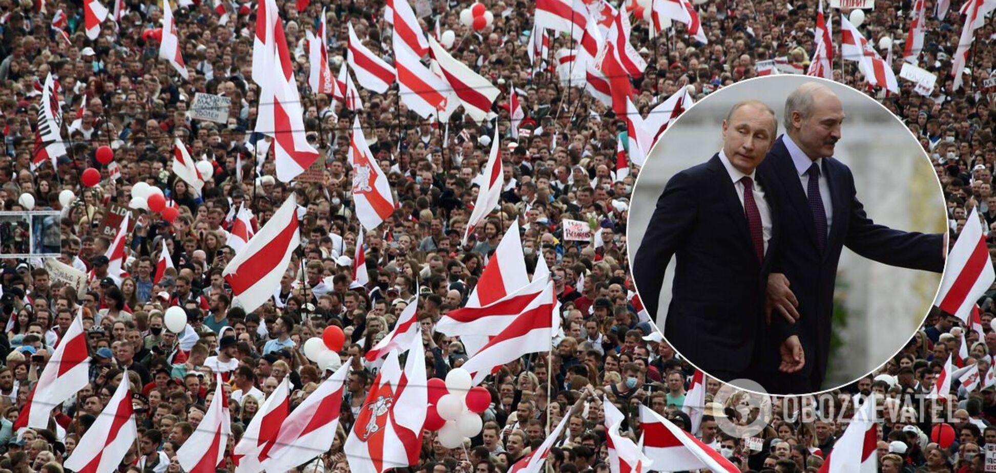 Белорусы отправили послание Путину, – оппозиционер
