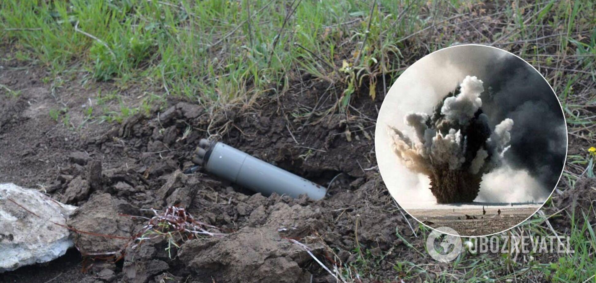 На Донбасі український військовий підірвався на вибухівці