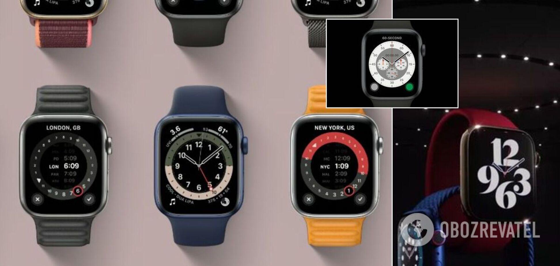 Apple показала свій новий годинник