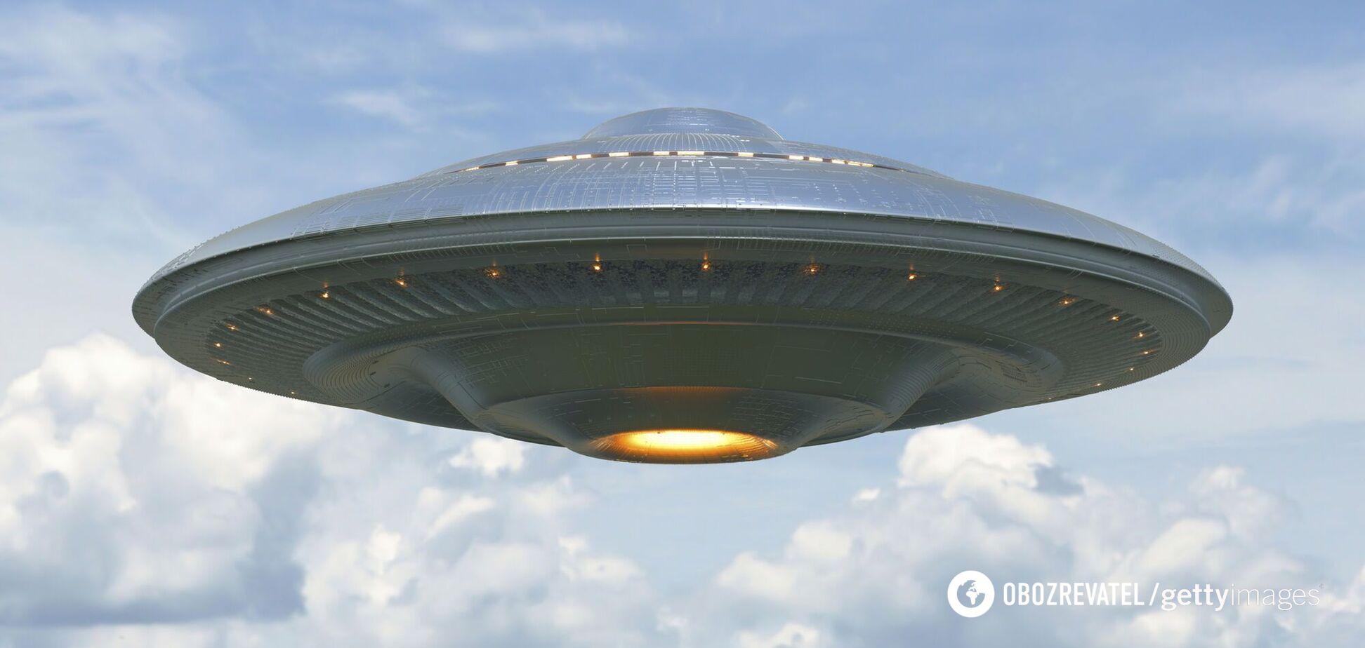 В небе над Одессой заметили НЛО