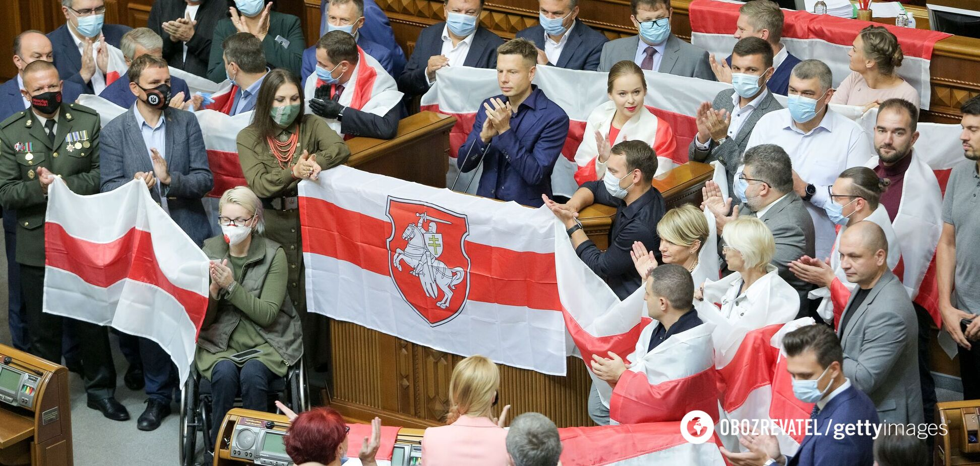 Рада признала выборы в Беларуси нечестными и осудила Лукашенко за насилие