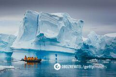 От Гренландии откололся огромный айсберг