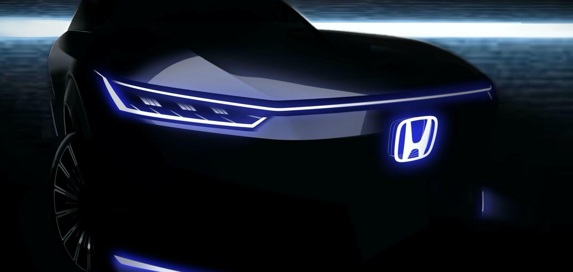 Honda показала тизер нового электромобиля