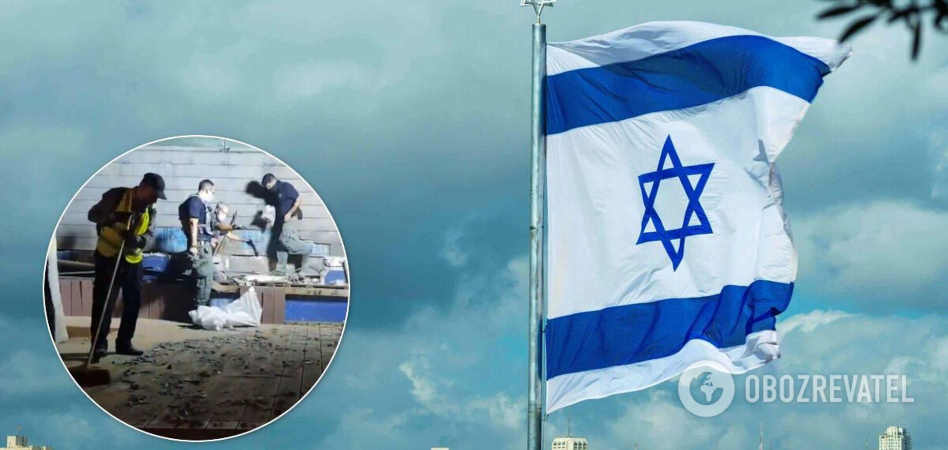 Ракетний обстріл в Ізраїлі