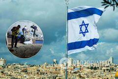 Ракетный обстрел в Израиле