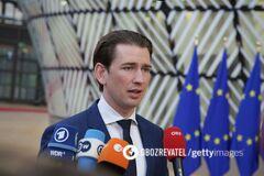 Курц сообщил о выделении Украине дополнительной гуманитарной помощи