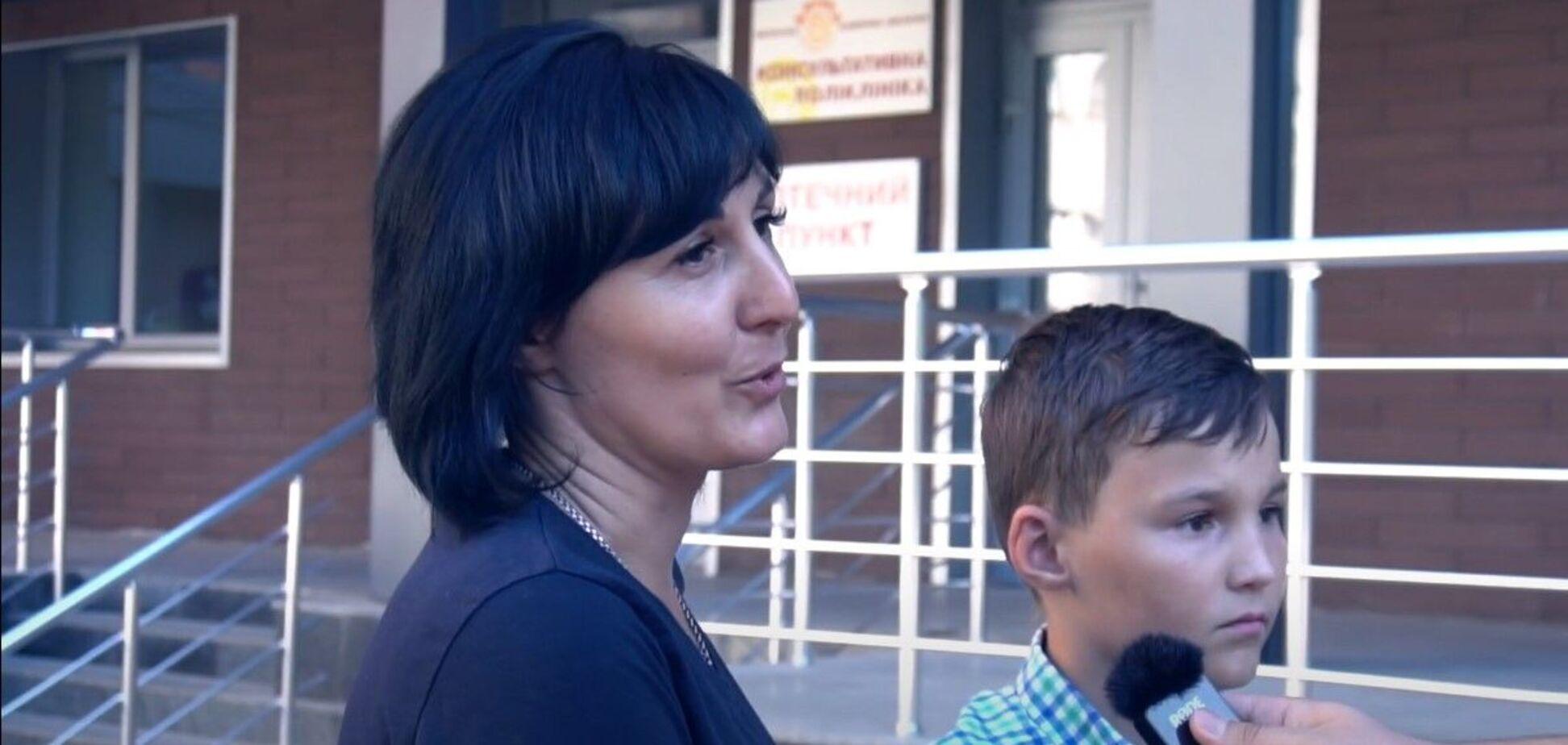 Хлопчик, збитий кандидатом в мери в Кривому Розі, і його мама