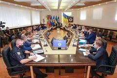 В МВД состоялось координационное совещание по обеспечению прозрачности избирательного процесса. Фото: пресс-служба МВД