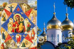 Икона 'Неопалимая купина' считается защитницей от пожара, молнии и поджога