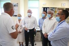 Встреча с коллективом предприятия 'ИнтерХим' в Одессе