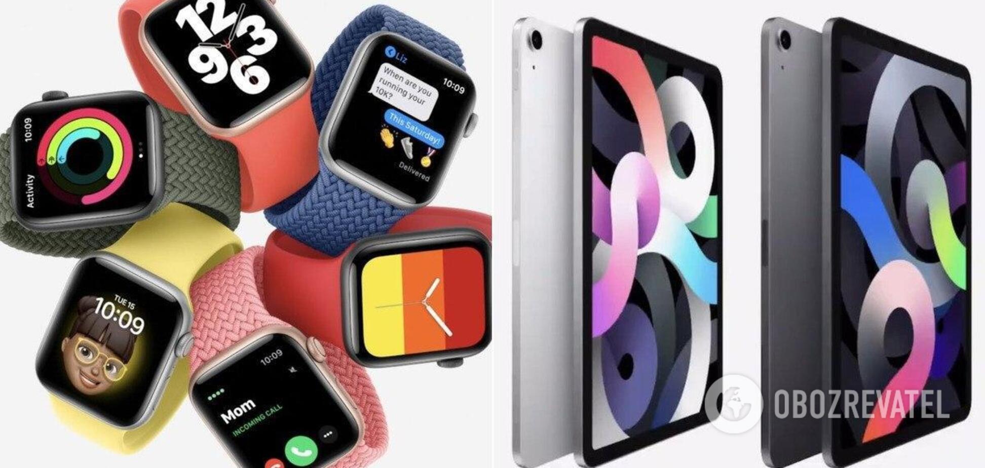 Apple показывает свои новые продукты