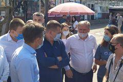 Филатов и Сухомлин посетили Бердичев. Фото: РИО Бердичев