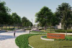 В Днепре активно строятся парки